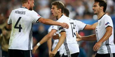 Alemania sigue haciendo valer su papel de favorito en la Eurocopa Foto: Getty Images