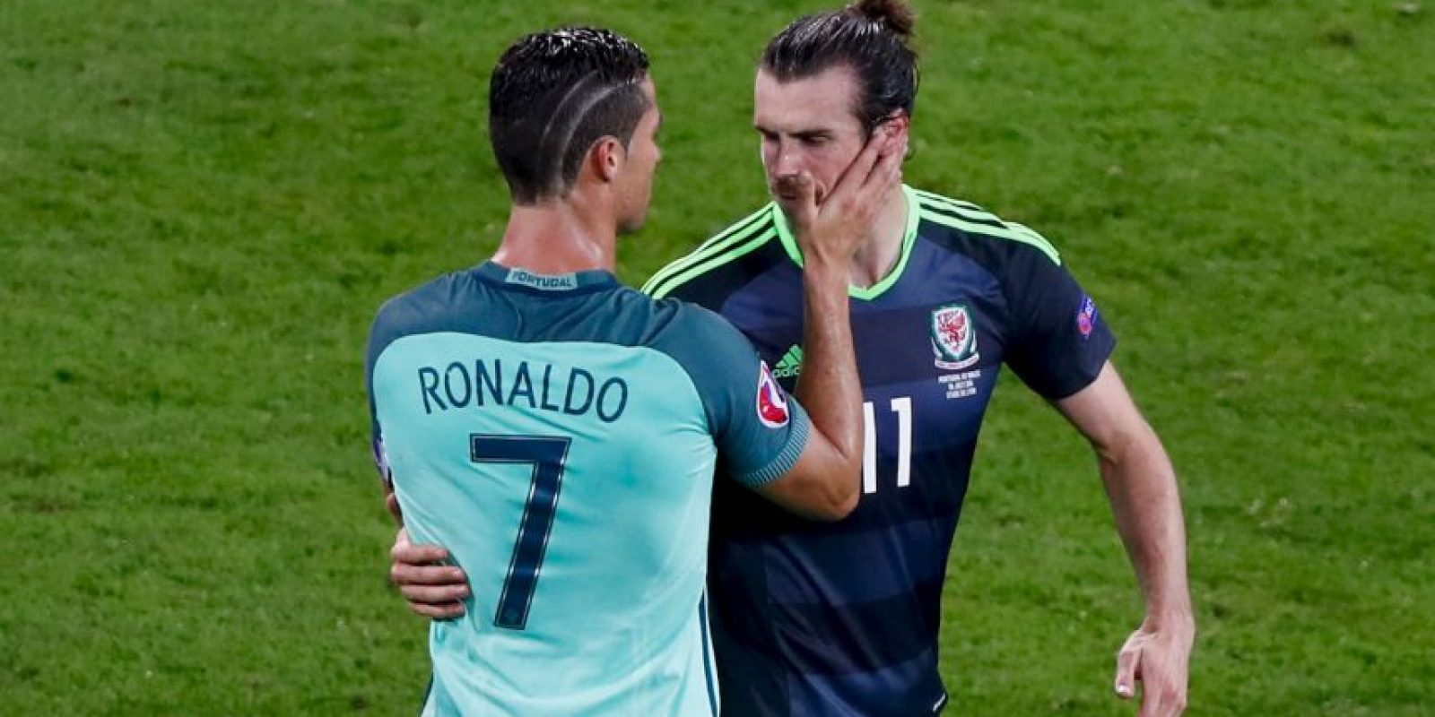 Cristiano Ronaldo y Gareth Bale demostraron su amistad Foto:Getty Images