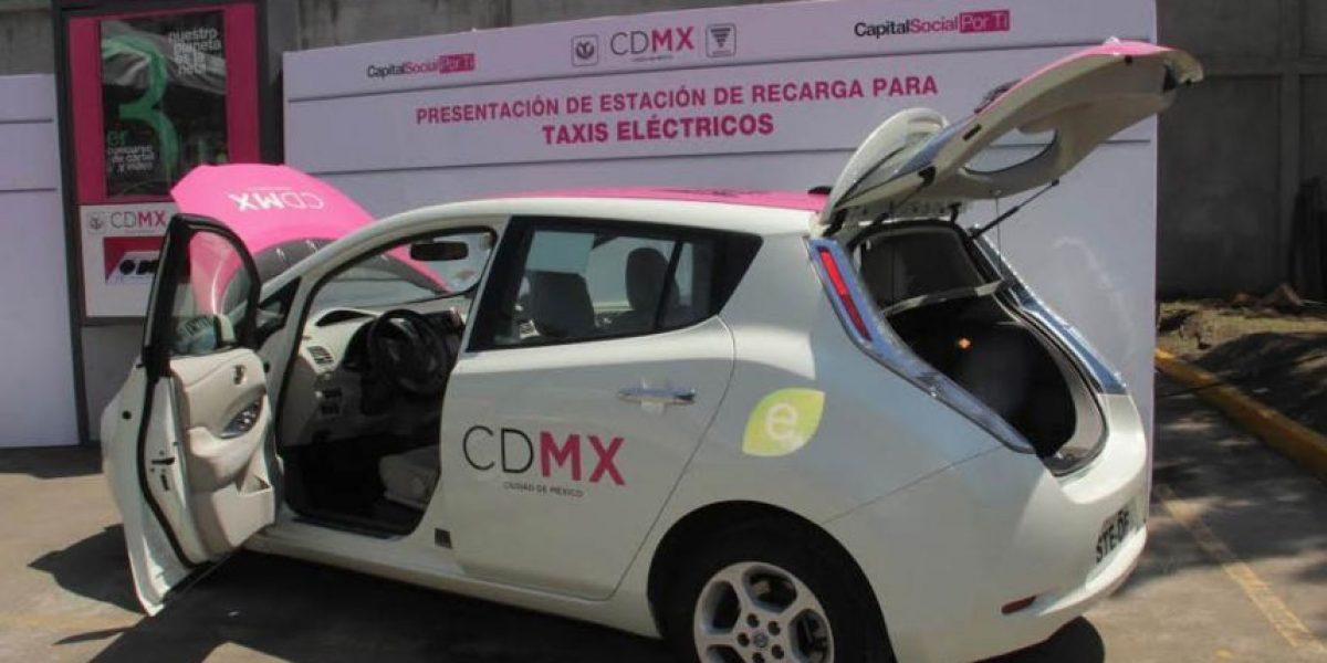 CDMX tendrá 700 taxis eléctricos para septiembre