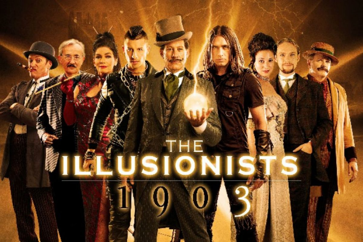 """The Illusionists 1903"" llega a la CDMX Foto: Ocesa"