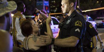 Miles de personas protestaron contra el abuso policial contra afroamericanos Foto:AFP