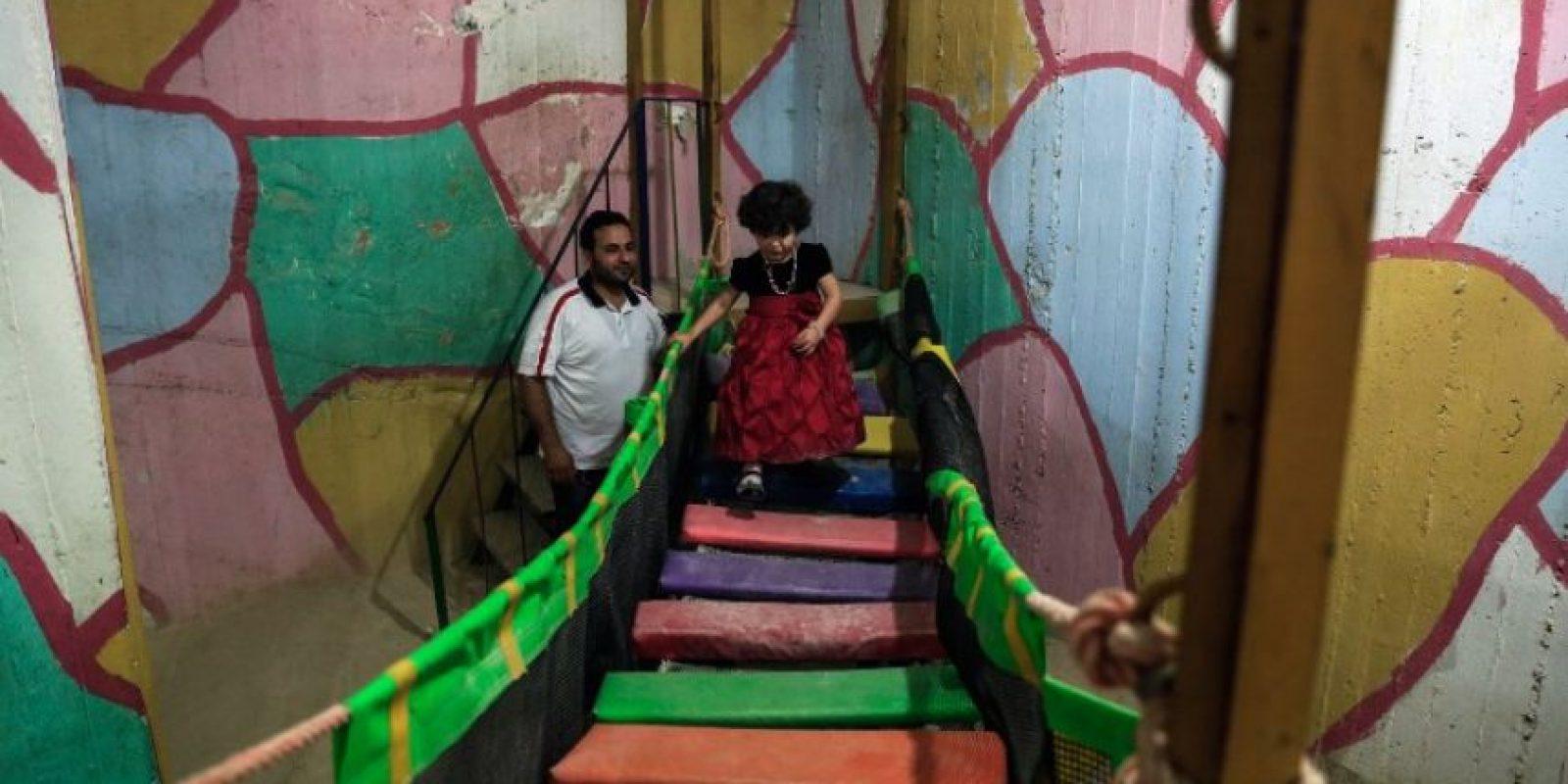 Y les permite alejarse unos instantes de su realidad Foto:AFP
