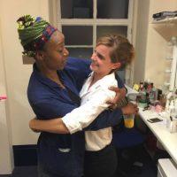 Al parecer Noma Dumezweni y Emma Watson se volvieron buenas amigas. Foto:Facebook Emma Watson