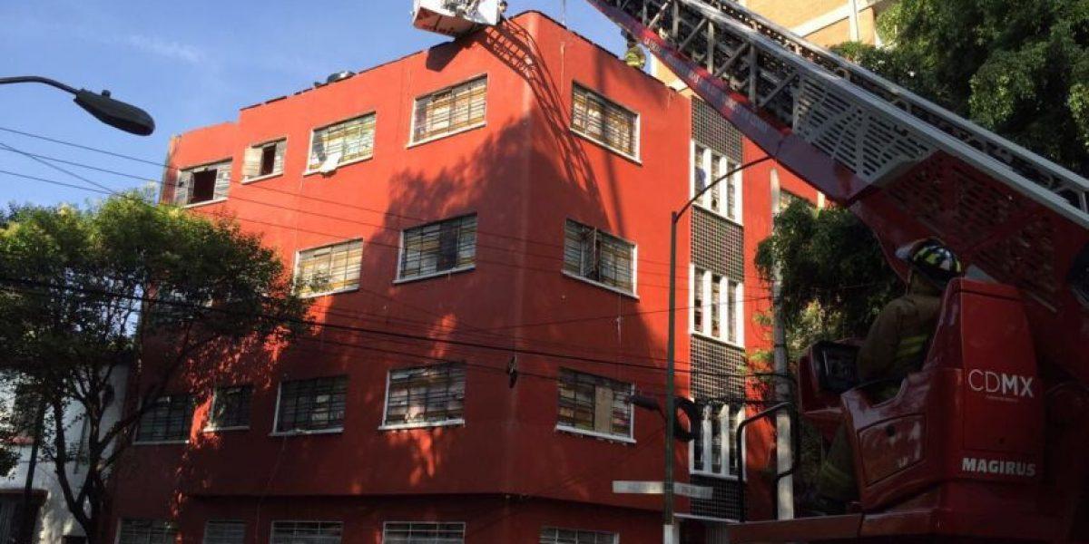 Arranca demolición del edificio invadido en la Condesa