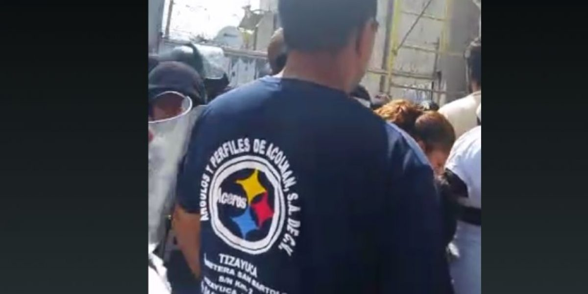 Reportan disturbios en penal de Tizayuca