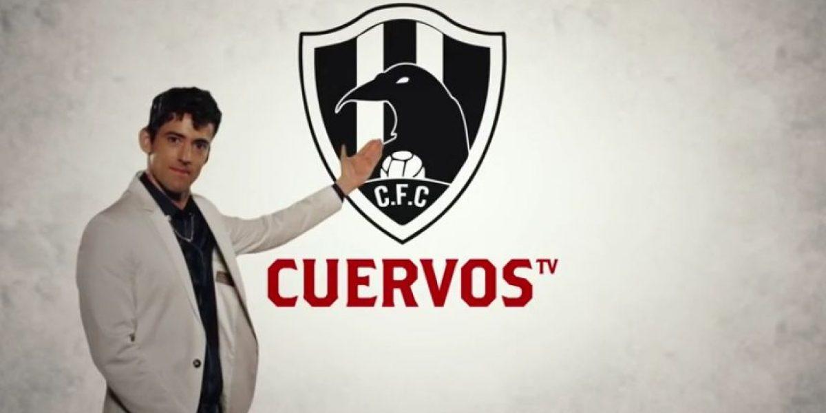 """VIDEO: Club de Cuervos """"trollea"""" el proyecto de Chivas TV"""