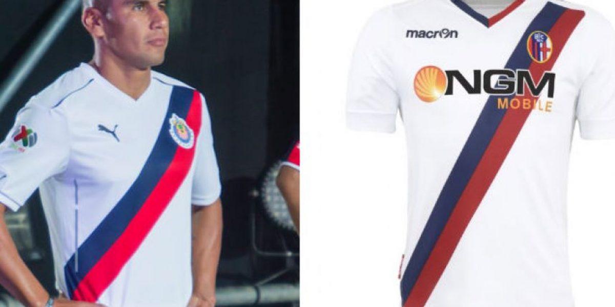 Acusan a Chivas de plagio por su segundo jersey