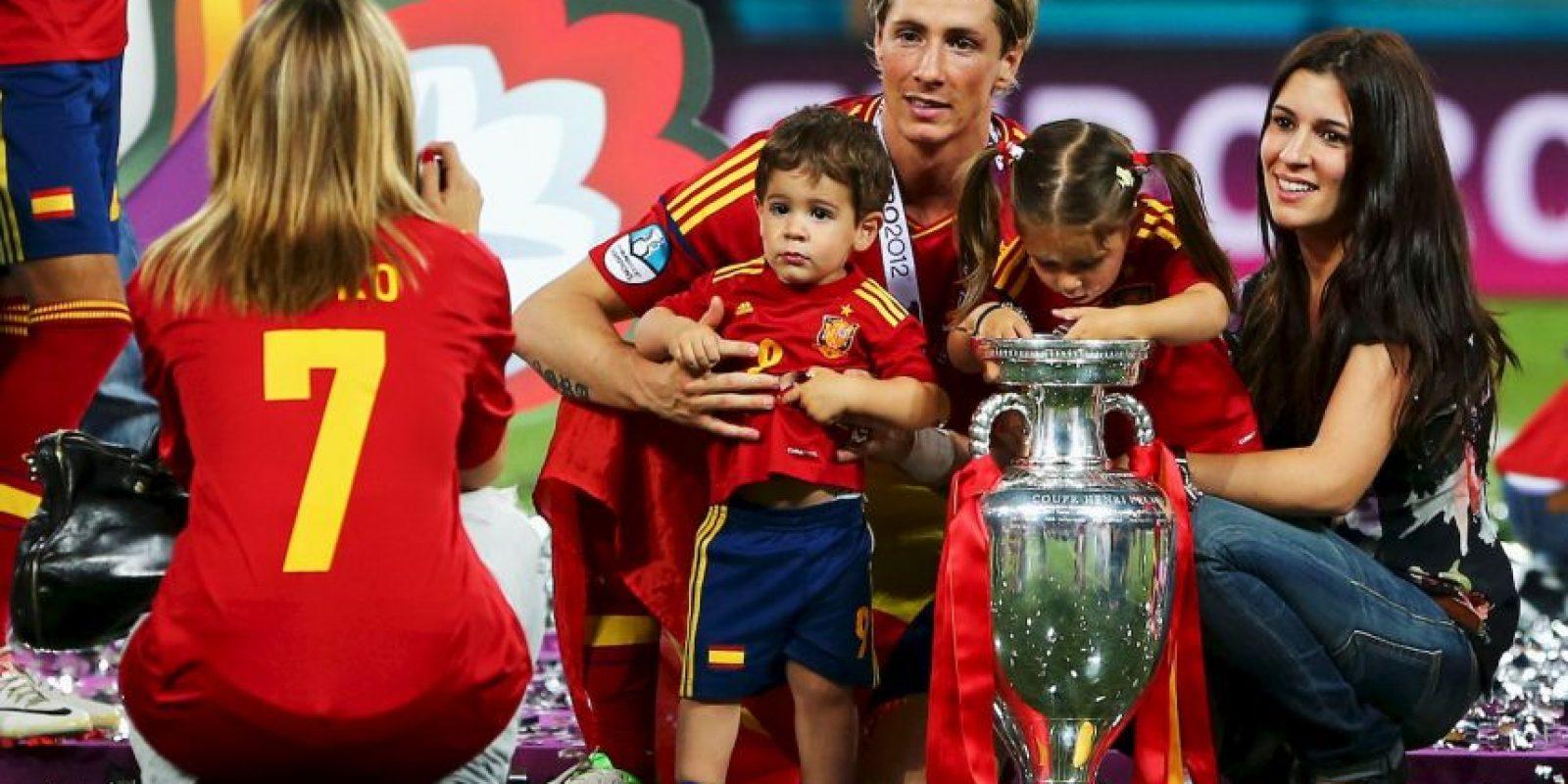 Fernando Torres y Juan Mata vendrían en 2012 con sus títulos en Chelsea y España Foto:Getty Images