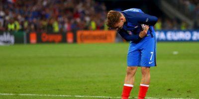 Antoine Griezmann se transformó en la gran figura de Francia para avanzar a la final Foto:Getty Images