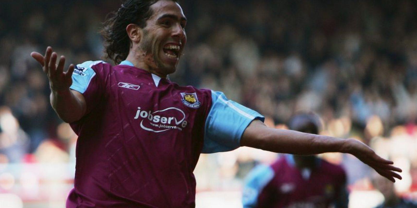 Carlos Tevez estuvo una temporada en el club inglés y luego saltó al Manchester United Foto:Getty Images
