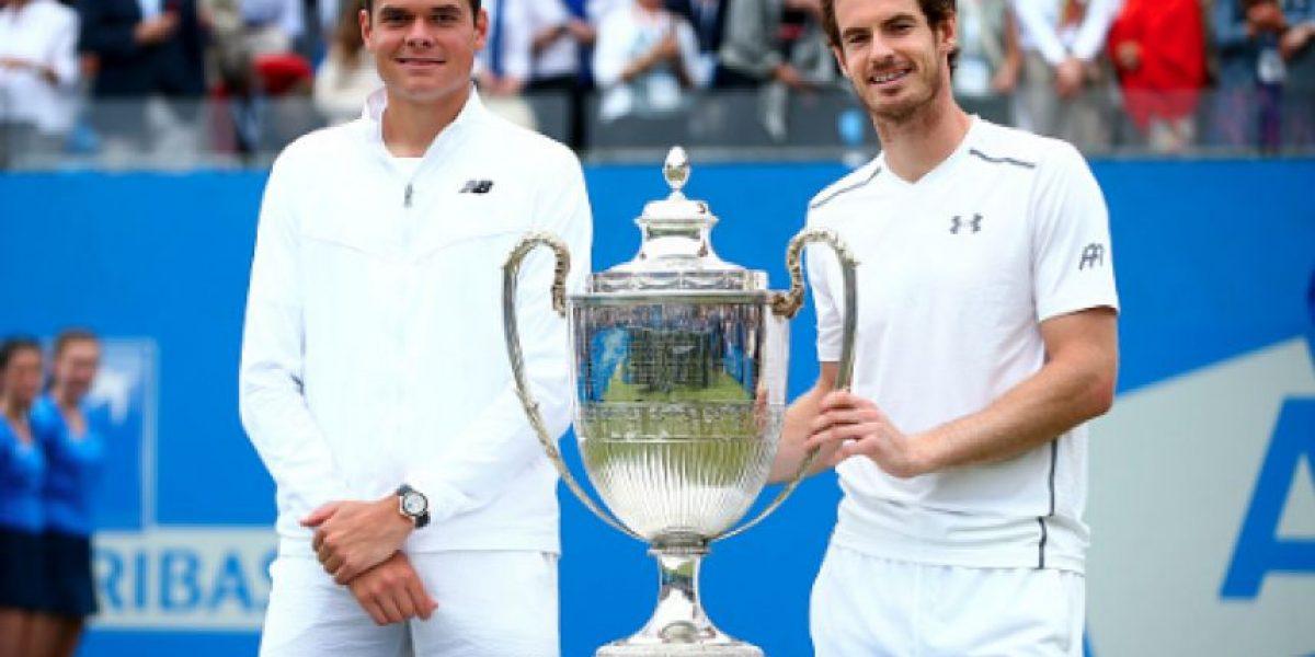 Lista la Final de Wimbledon, Murray se medirá a la sorpresa Raonic