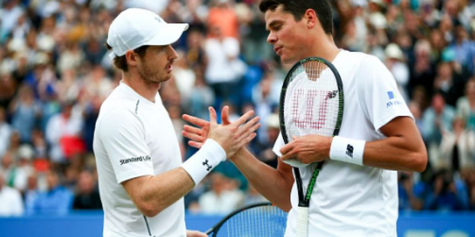 Lista la Final de Wimbledon: Murray ante Raonic Foto: Getty Images