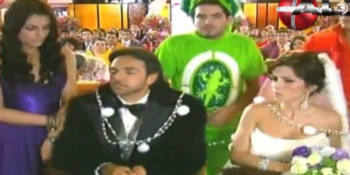 Eugenio Derbez y Alessandra Rosaldo tuvieron una boda de