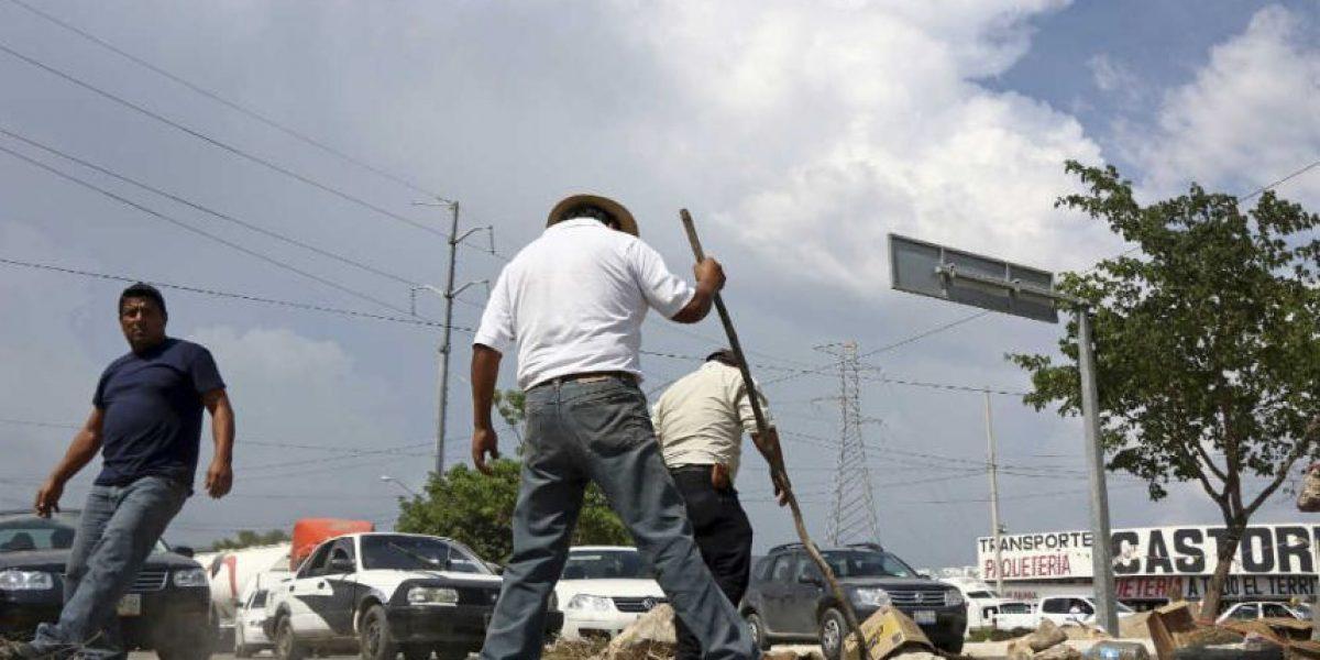 CNTE retira bloqueos en Chiapas