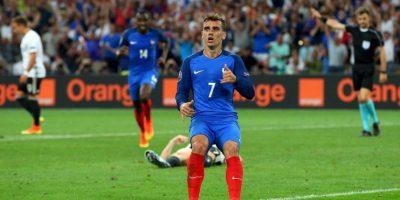 Griezmann se ha convertido en el mejor futbolista de Francia Foto:Getty Images
