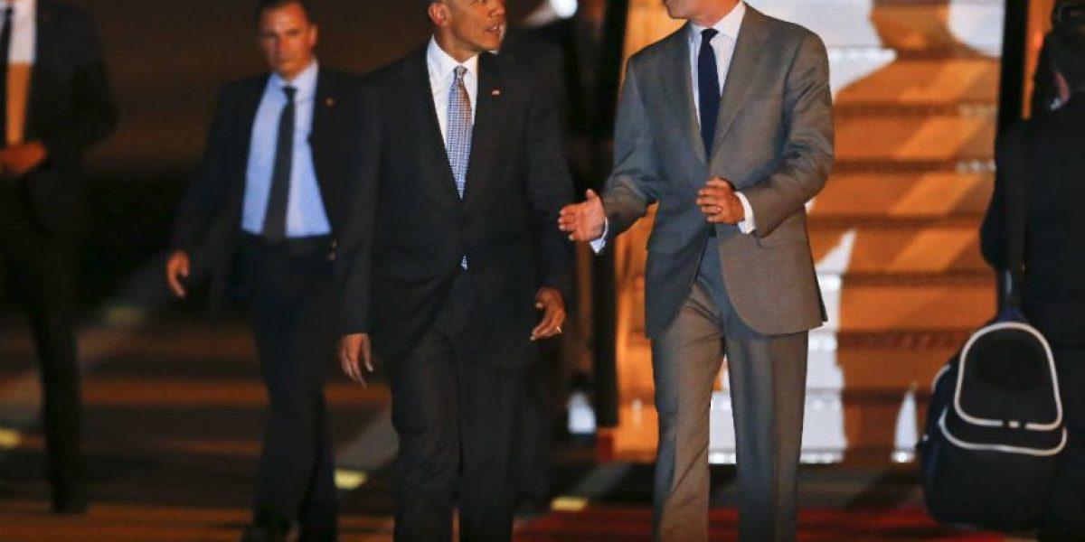 Obama llega a España para su primera visita oficial