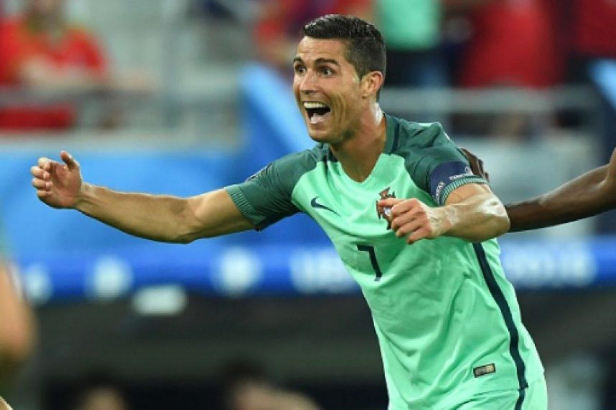Cristiano confía en el título de la Eurocopa para Portugal Foto:Getty Images