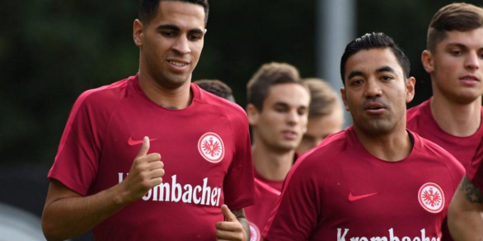 Marco Fabián amotó y colaboró en la goleada del Eintracht 15-0