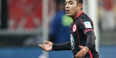 Marco Fabián amotó y colaboró en la goleada del Eintracht 15-0 Foto:Getty Images