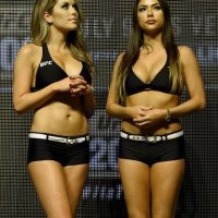 Brittney Palmer y Arianny Celeste Foto: Getty Images