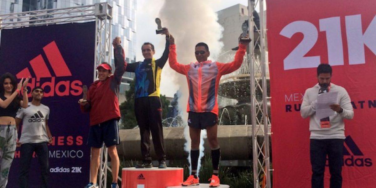 Se corre medio maratón en la Ciudad de México