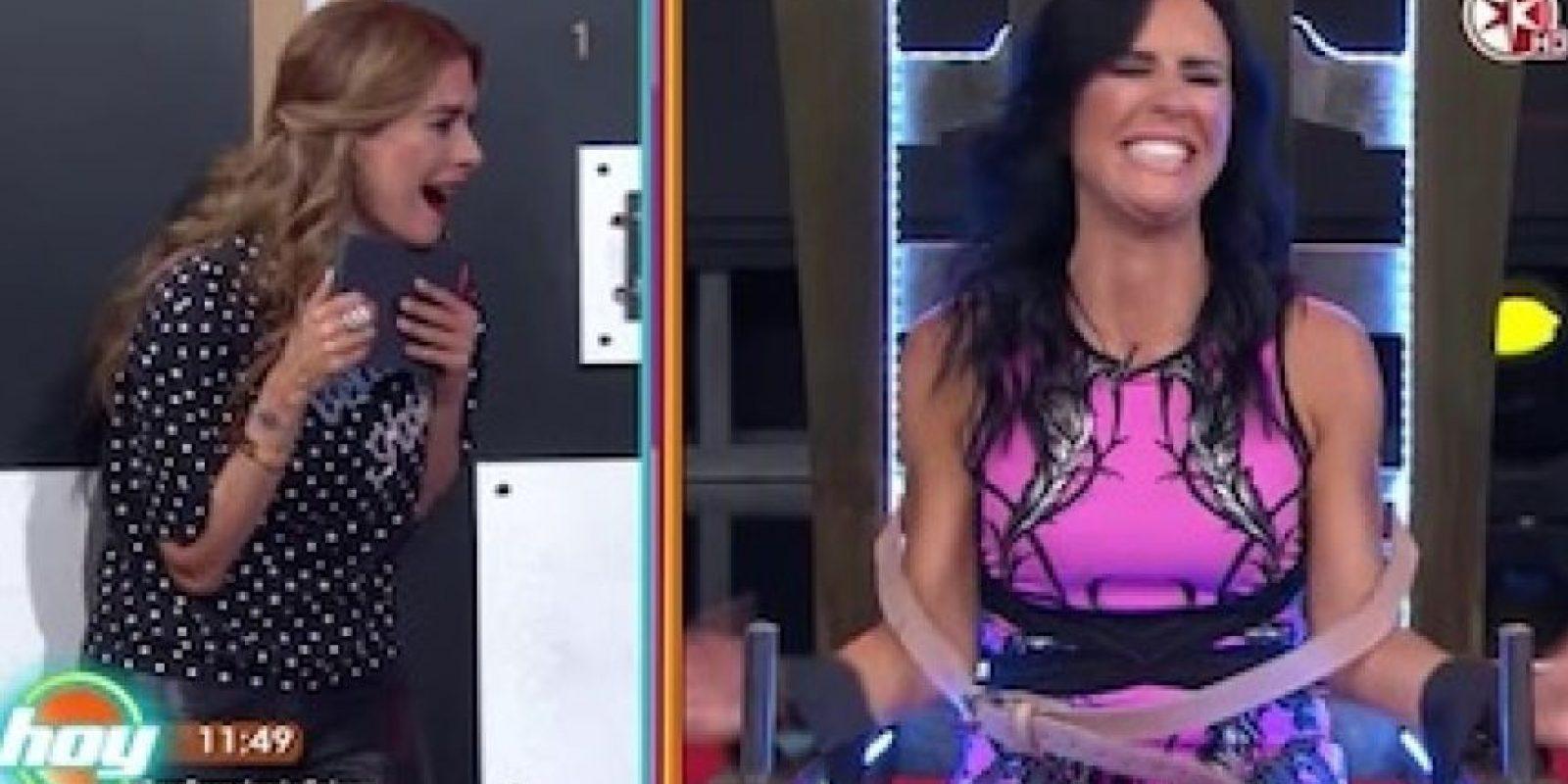 "Así fue la visita de Inés Gómez-Mont a ""Hoy"" Foto:Televisa"