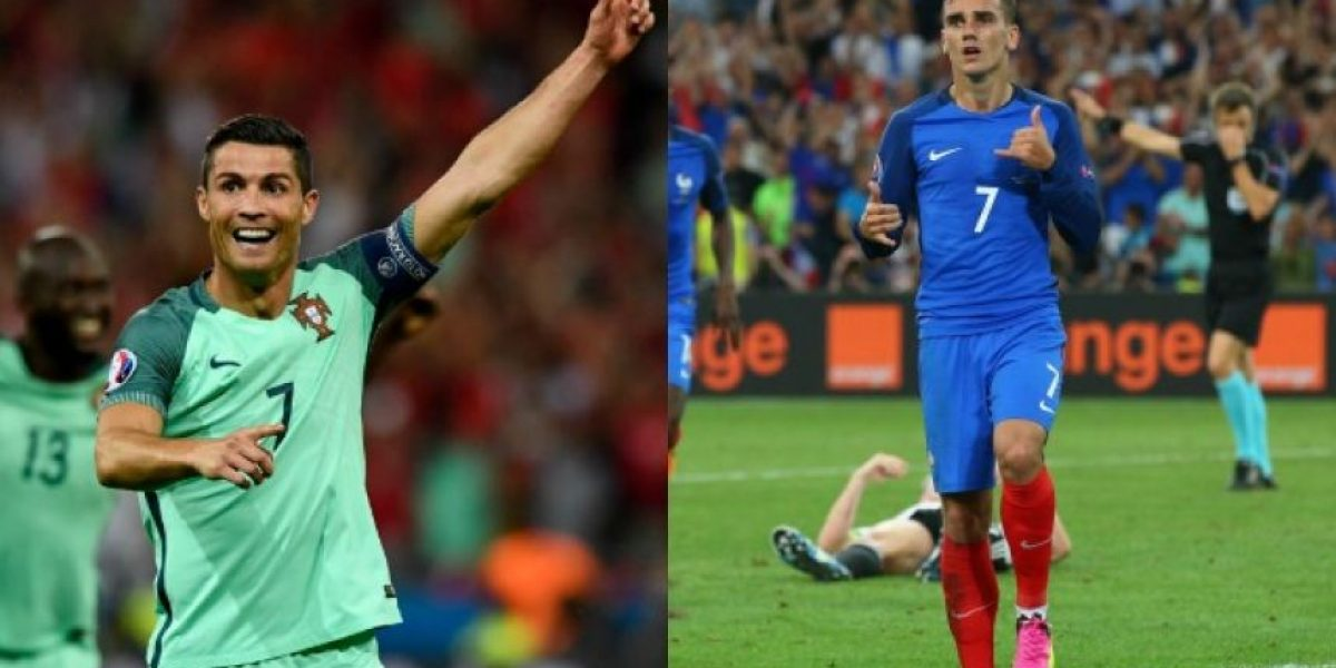 Eurocopa En vivo: Francia vs Portugal final