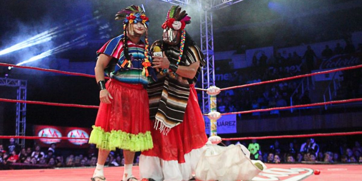 VIDEO: Averno y Chessman parodian y humillan a Faby y Mary Apache