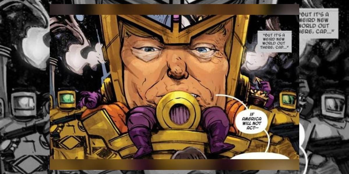 Trump, ¿el nuevo villano del universo Marvel?
