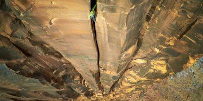 Primer lugar: Escalada en roca Moab Foto:Autor: Maxseigal – Dronestagram.com