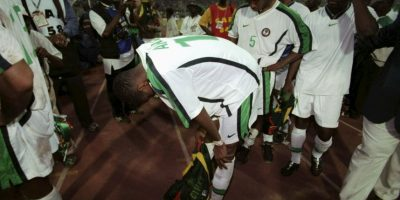 En África, en tanto, Nigeria cayó de local ante Camerún en el 2000. En 1965 y 1982, los ghaneses habían amargado dos veces a un local Foto:Getty Images