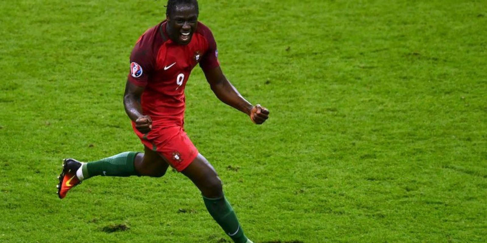 Eder se convirtió en el héroe de Portugal al convertir el gol del triunfo ante Francia Foto:Getty Images