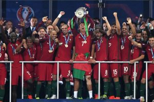 Portugal se proclama campeón de Europa… ¡y sin CR7! Foto: Getty Images