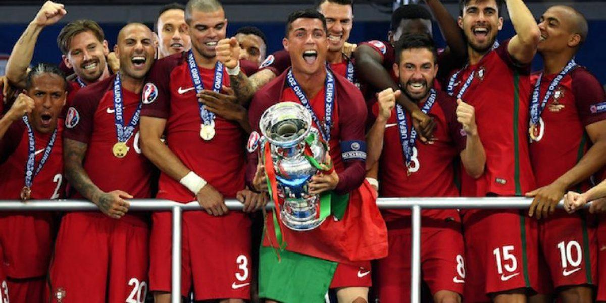Portugal se proclama campeón de Europa... ¡y sin CR7!