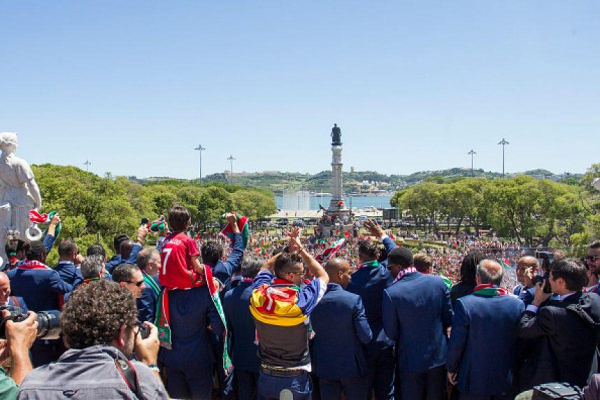 ... Foto  Getty Images  Cristiano Ronaldo lideró los festejos ... 895338dda4c