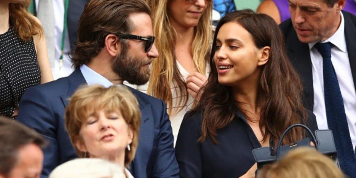 Bradley Cooper hace llorar a Irina Shayk en la final de Wimbledon