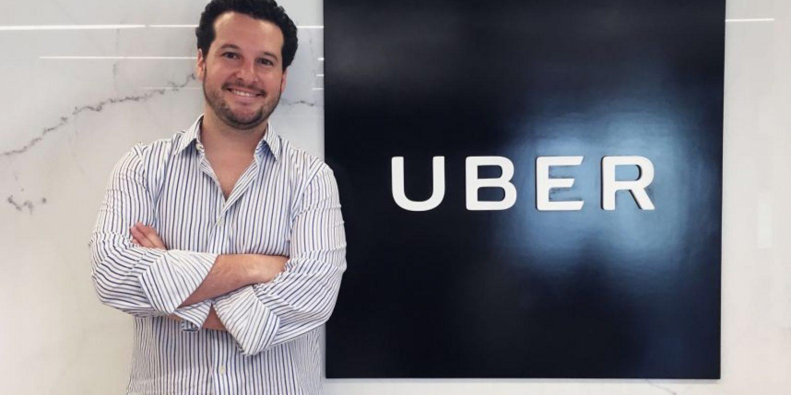 Roberto Fernández del Castillo, Director General de UberMéxico Foto:Cortesía
