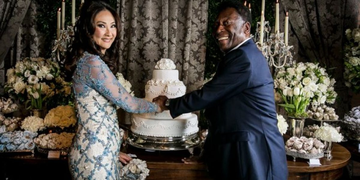 FOTOS: Así fue la tercera boda de Pelé