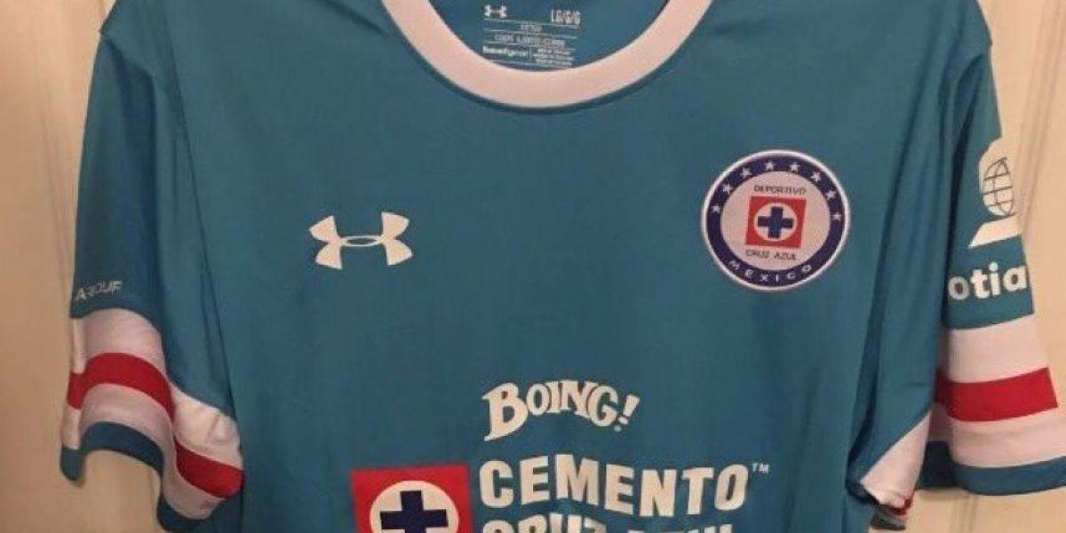 Se filtran imágenes de la nueva playera de Cruz Azul