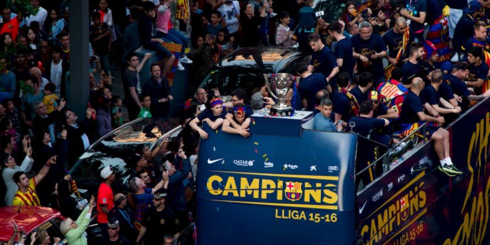 La misma fecha que la Serie A comenzará la Liga de España. Barcelona lucirá el escudo de campeón Foto:Getty Images