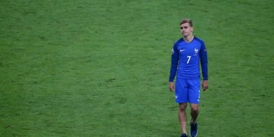 Así sufrió Griezmann en la final de la Euro 2016 Foto: Getty Images