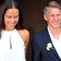 Ana Ivanovic y Bastian Schweinsteiger se casaron en Venecia Foto:AP