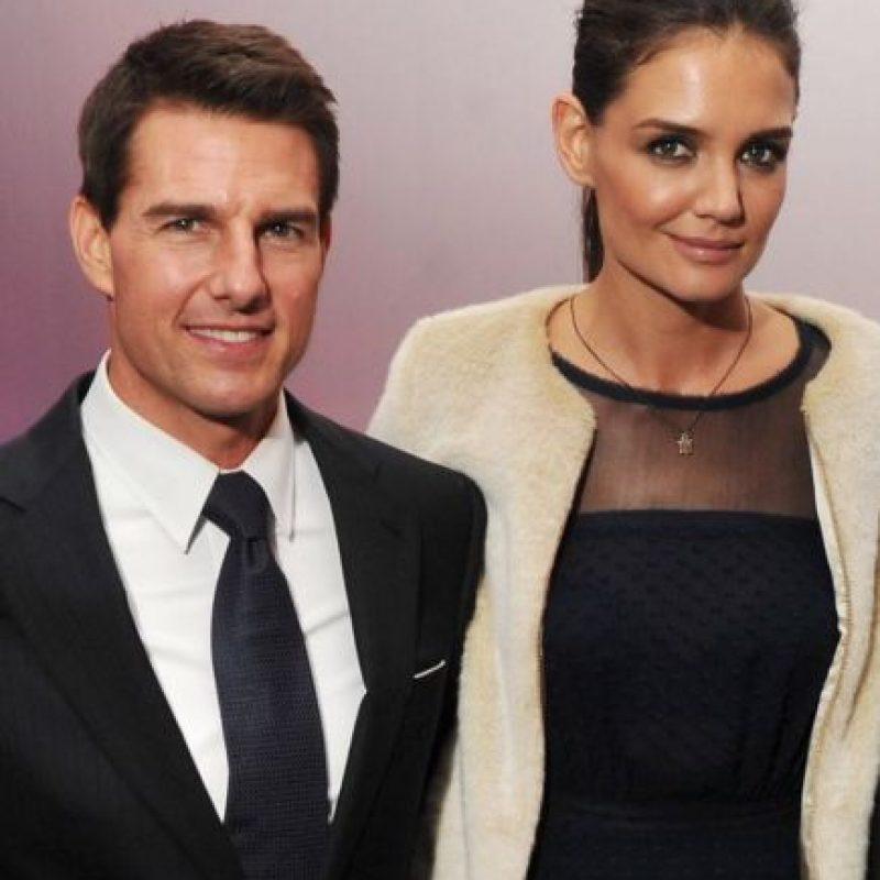 Pero eso cambió en 2012, cuando se anunció el divorcio. Ella prácticamente lo hizo todo a espaldas del actor. Foto:vía Getty Images