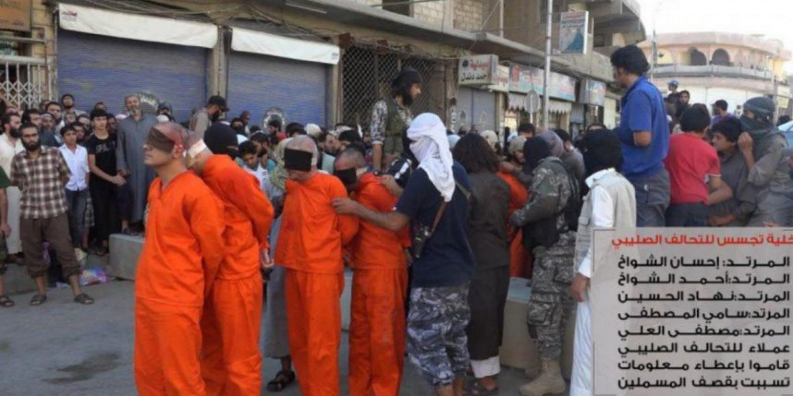 Cuatro jugadores y un dirigente fueron asesinados por ISIS Foto:Twitter @Raqqa_SL