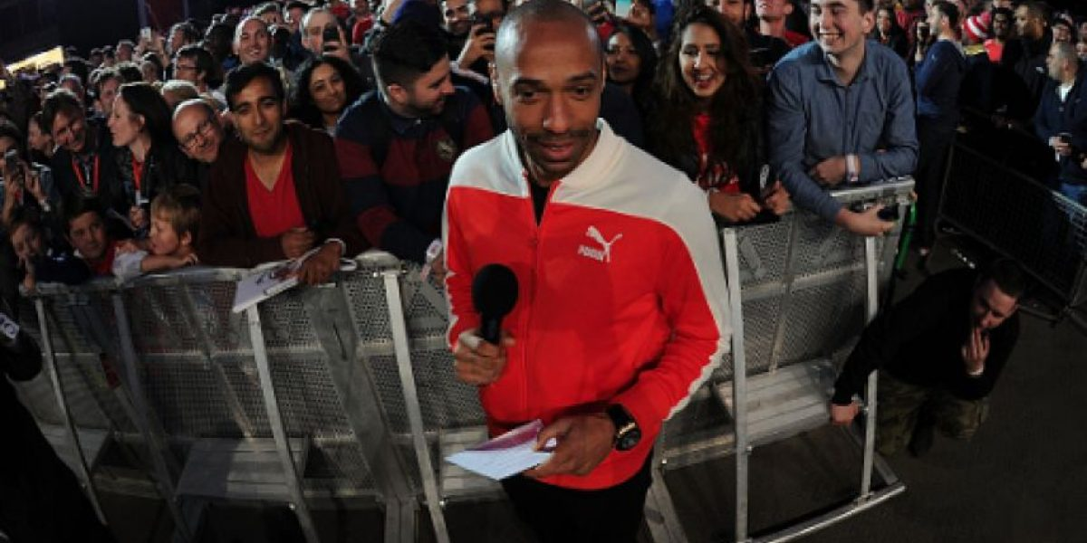 Thierry Henry prefirió ser comentarista que entrenador del Arsenal