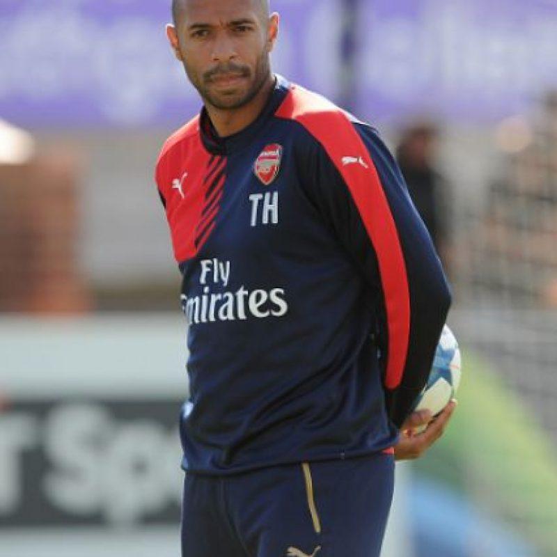 Thierry Henry deja al Arsenal y sigue su carrera como comentarista Foto:Getty Images