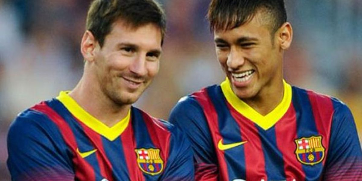 FOTO: Neymar y Messi, con los mismos gustos de ropa