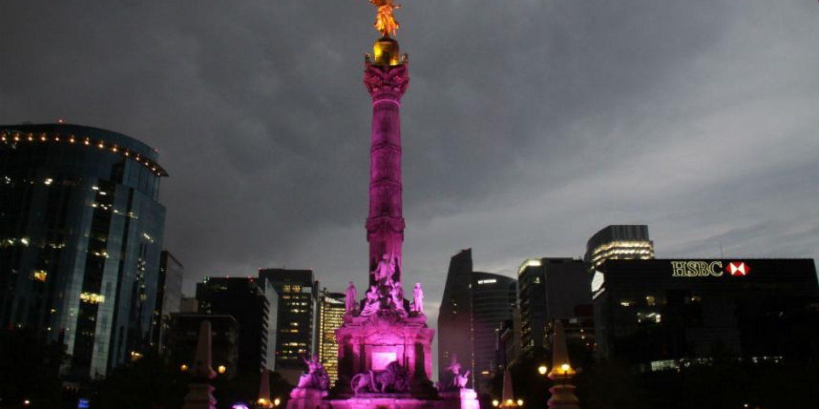 El Ángel de la Independencia Foto:Cuartoscuro