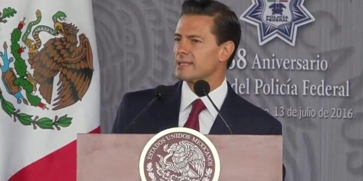 Carrera de Policía Federal tendrá reconocimiento a nivel superior: Peña Nieto
