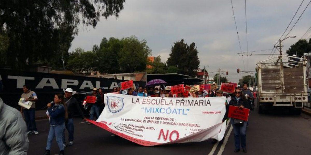 CNTE inicia jornada de marchas en la CDMX